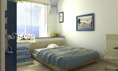 蓝白地中海装修风格 打造自由精神内涵