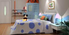儿童房颜色搭配的风水
