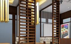 日式风格餐厅设计 走进大自然