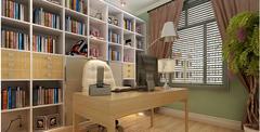 书房设计五大原则 书房设计效果图