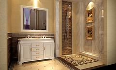 卫生间瓷砖装修风水 不容忽视的浴室情调