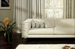 窗帘和沙发的搭配