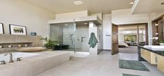 卫浴间的淋浴系统安装