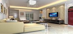 现代简约装修之客厅效果图