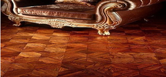 揭秘拼花地板选材铺装过程