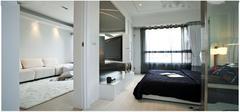 三招教你客厅卧室隔断设计