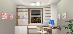 房子小,书房该如何装修?