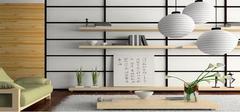 日式风格 客厅装修效果图