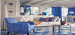 蓝白地中海风格家装
