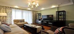 美式经典风格3房2厅装修案例!