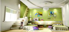 儿童房装修原则 打造环保完美空间