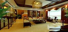 中式客厅装修效果图  感受东方文化