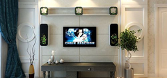 电视背景墙的立体时代——影音背景墙