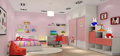 儿童房选购家具常识