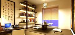 享受生活  别有情调的书房装修效果图