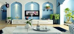 客厅装修  不同风格的装修案例欣赏