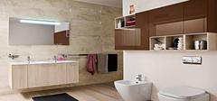 卫浴装修之隔断设计