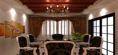 窗帘色彩选择根据房间不同而定