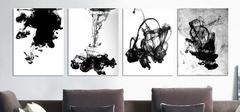 室内家居黑白装饰画图片 客厅装饰画