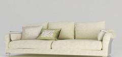 10款白色简约风格的双人沙发图片