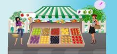 小型水果店装修设计降低水果被损坏的3点小窍门