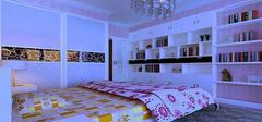 卧室装修效果图  打造您浪漫空间
