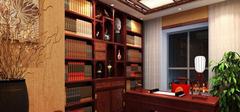 五款雅致书房装修效果图 做个文艺青年