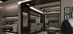 男士服装店装修如何设计比较好?