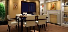 【餐厅家具布局】营造温馨的气氛