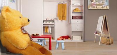 儿童衣柜选择,健康环保最重要!