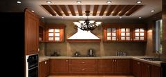 欧式厨房装修效果图欣赏