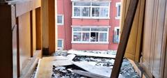 户主在家剁饺子陷 整个阳台坍塌
