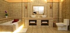 如何依靠装修使卫生间变大?