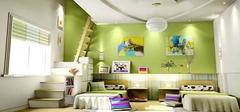 儿童房装修色彩搭配的原理与技巧