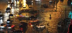 北京天气 再次遭暴雨袭击