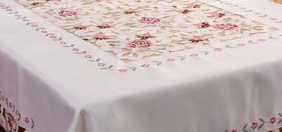 餐桌台布怎么选择,餐桌台布如何挑选,餐桌台布如何搭配