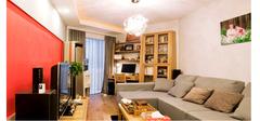有效的利用客厅的装修空间,打造一边属于自己的小书房