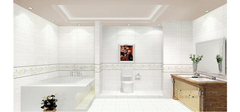 时尚与实用并存的卫生间装修效果图