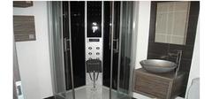 看看这黑白配风格的卫生间装修效果图能否吸引你的眼球