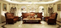 欧式真皮沙发 打造品味家园的不二选择