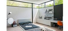 榻榻米式的卧室装修效果图