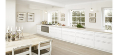 色彩分布对厨房装修的影响