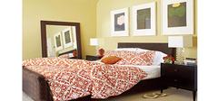 完美色彩搭配的卧室装修效果图