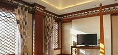 东南亚风格窗帘 质朴的自然风情
