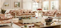 田园风格沙发为你打造一个安静淡泊的家居环境