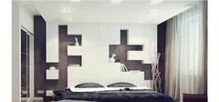 私密安静的空间来之不易,卧室墙面吊顶装修