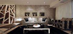 客厅沙发背景墙设计 四步打造美丽家居