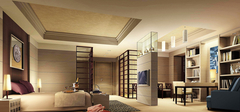 书房和卧室装修一体化