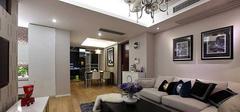 现代简约风格客厅装修 给人温馨大气之感