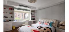 儿童卧室风水禁忌之书桌与床的布局